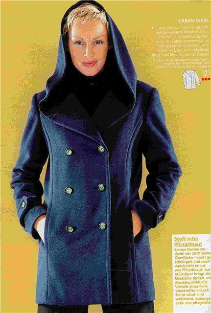 Как сделать на пальто капюшон