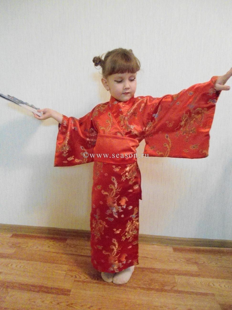 Кимоно для детей своими руками