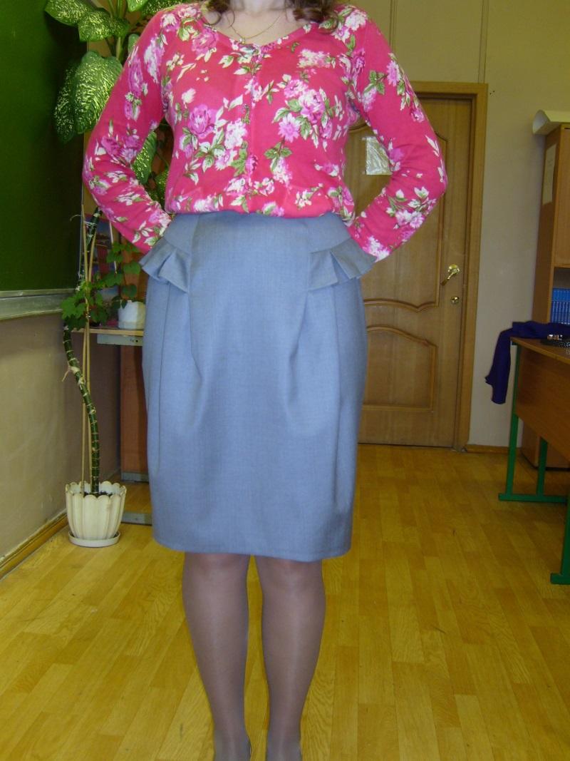 Моделирование юбки тюльпан