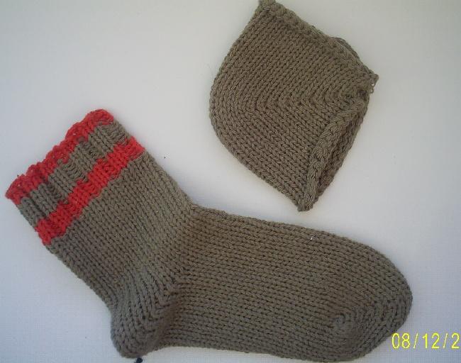 Вязание носков на северянке