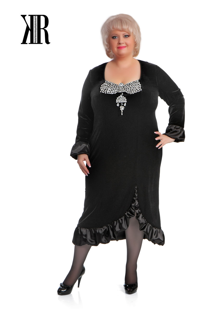 Сшить платье больших размеров