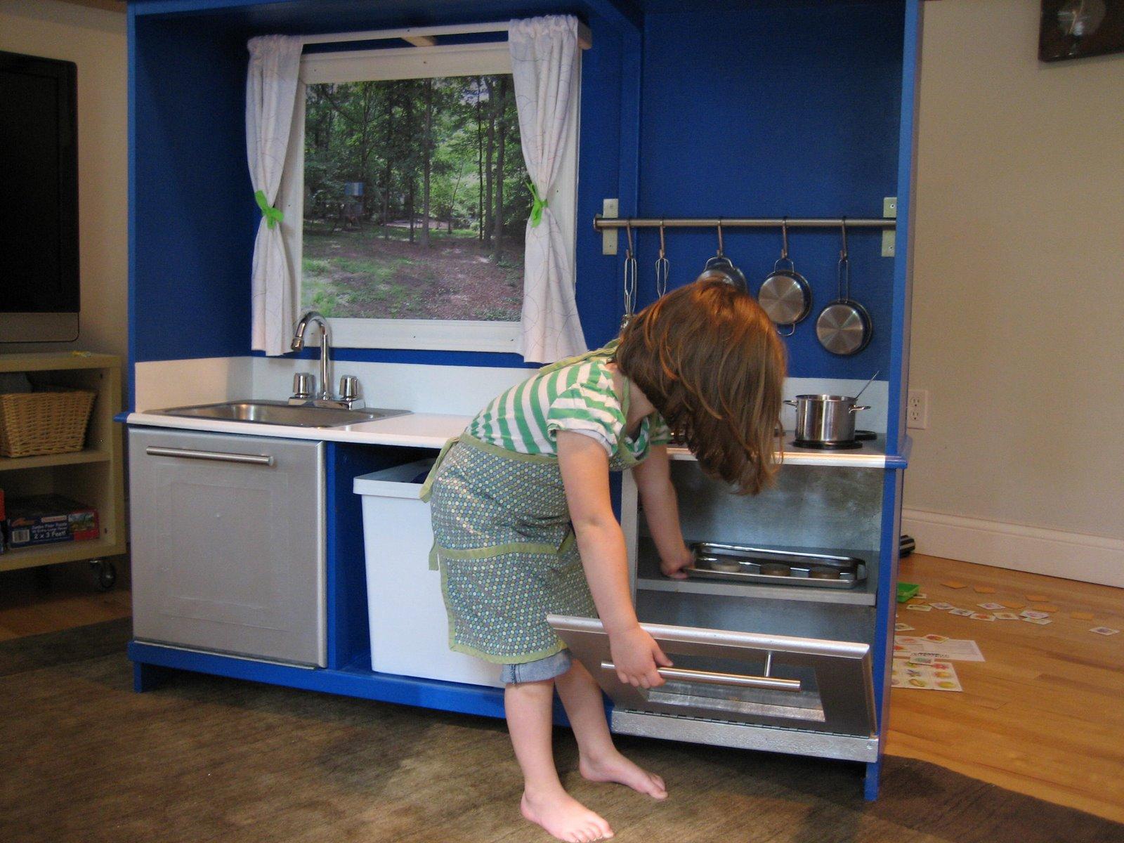Как из старой мебели сделать кухню фото