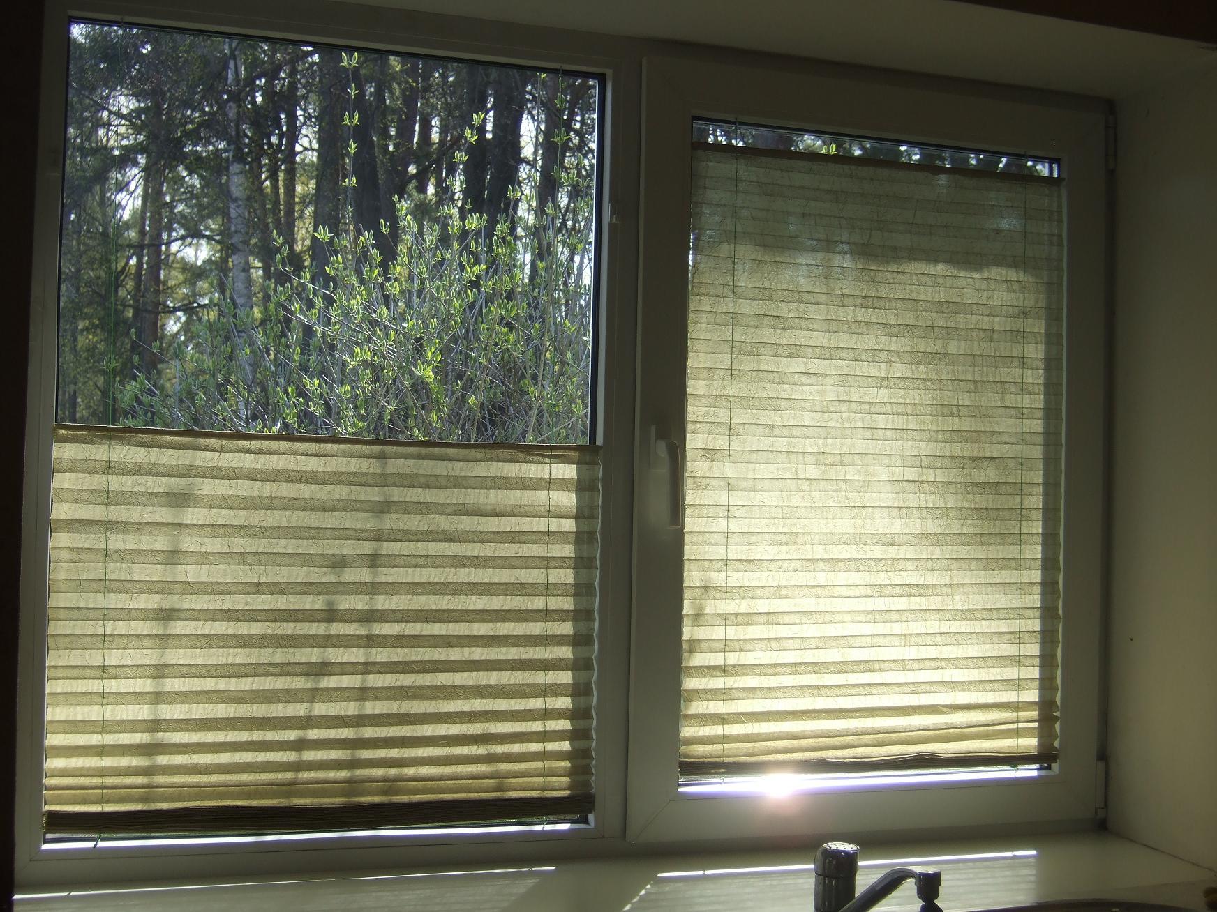 Из чего сделать жалюзи на окна своими руками видео