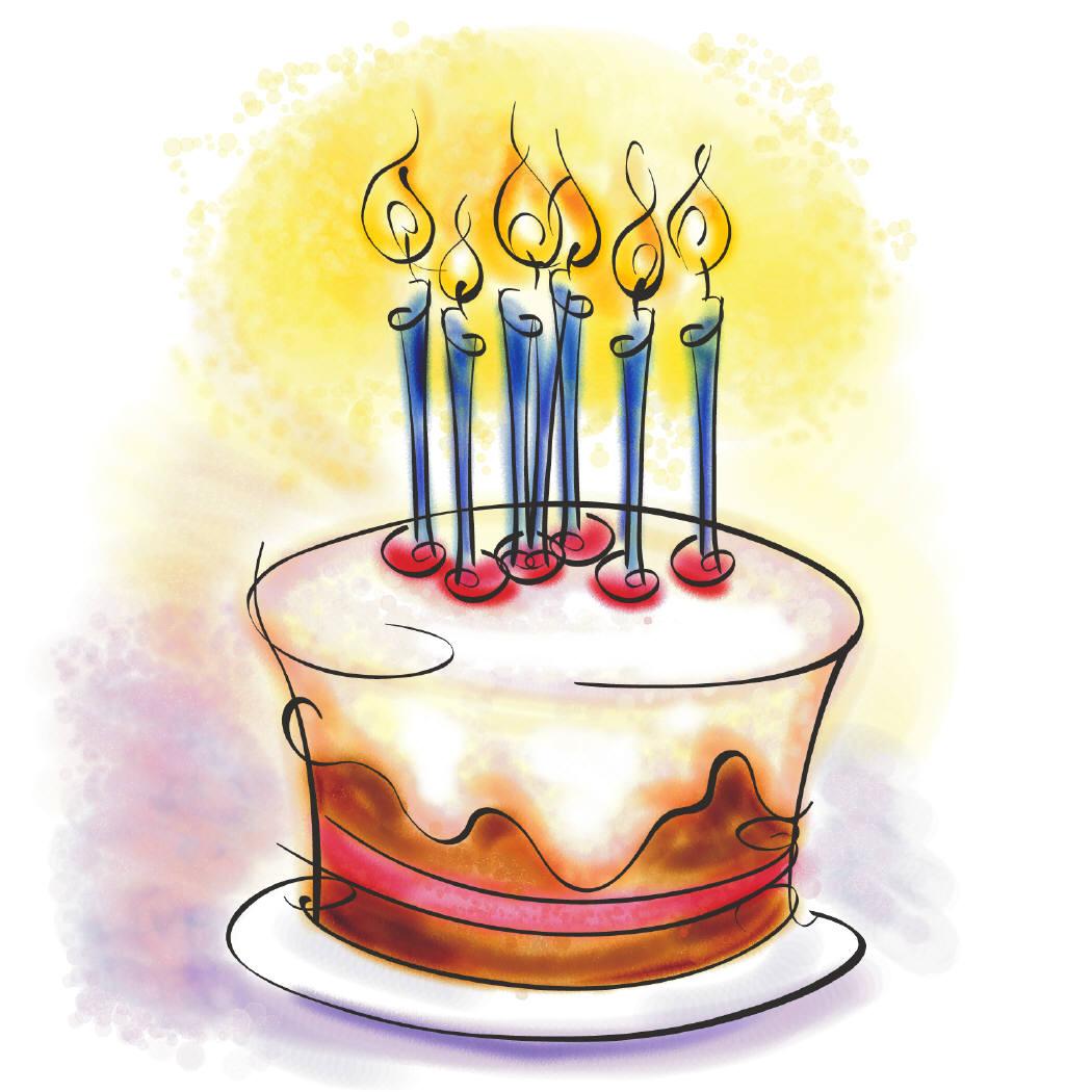 рисунки с днем рождения для выжигания