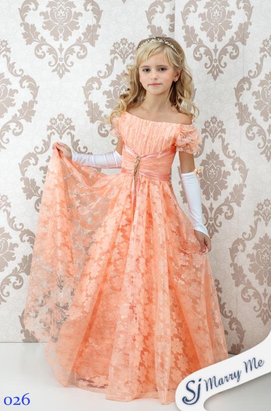 Детское платье в пол своими руками