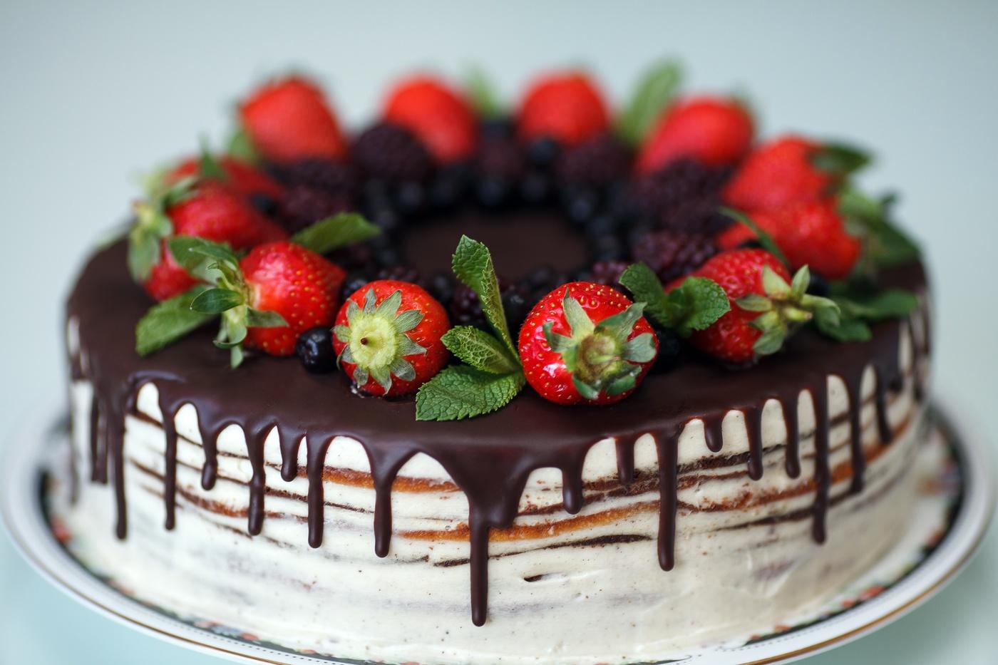 Картинки тортик красивый, разноцветные розы пожелания
