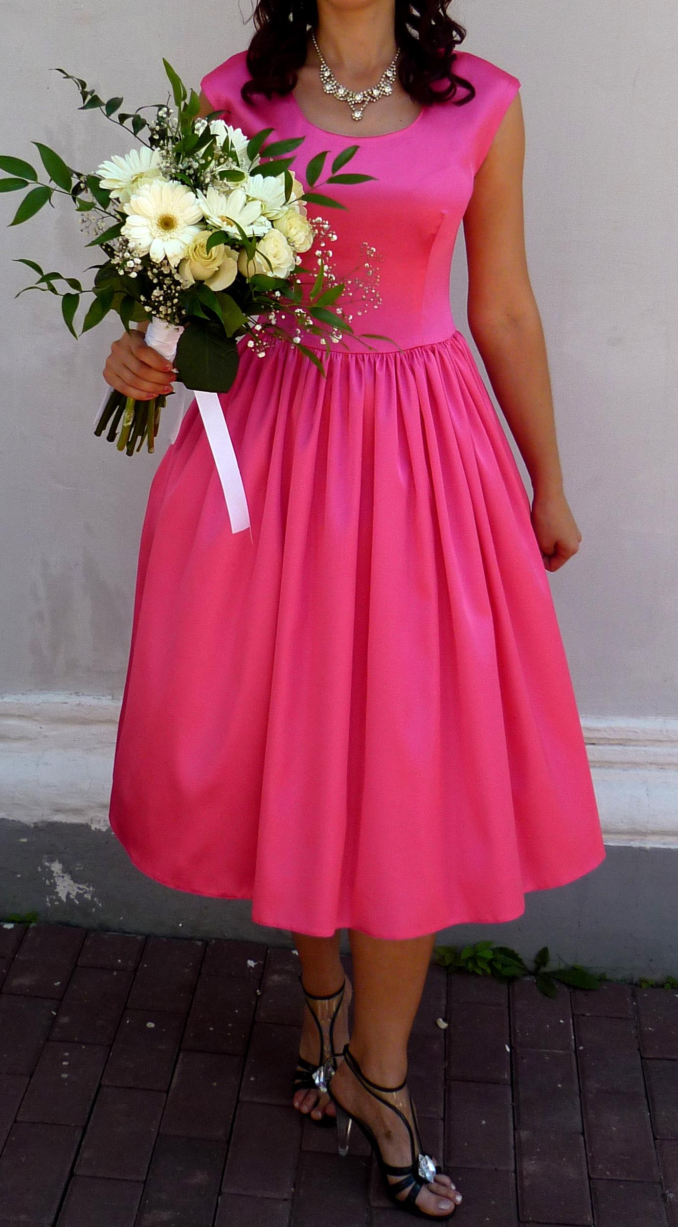 Как сшить платье нью лук своими руками
