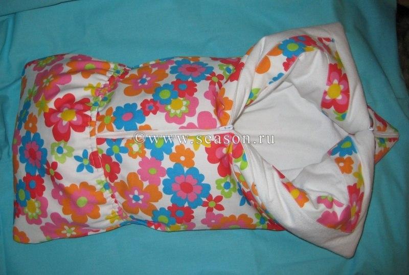 Как сшить конверт одеяло на выписку