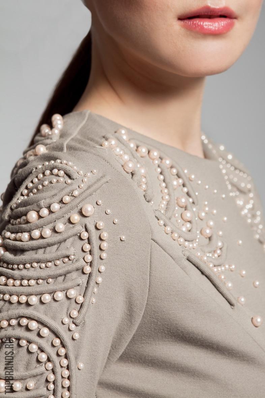 фото бусины на одежде универсальный облицовочный материал