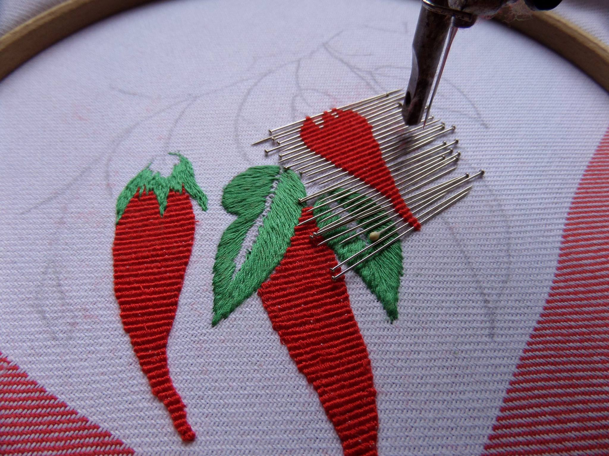 Вышивка в свободно -ходовой технике, new:вышивка на трикотаже, как? Форум 37