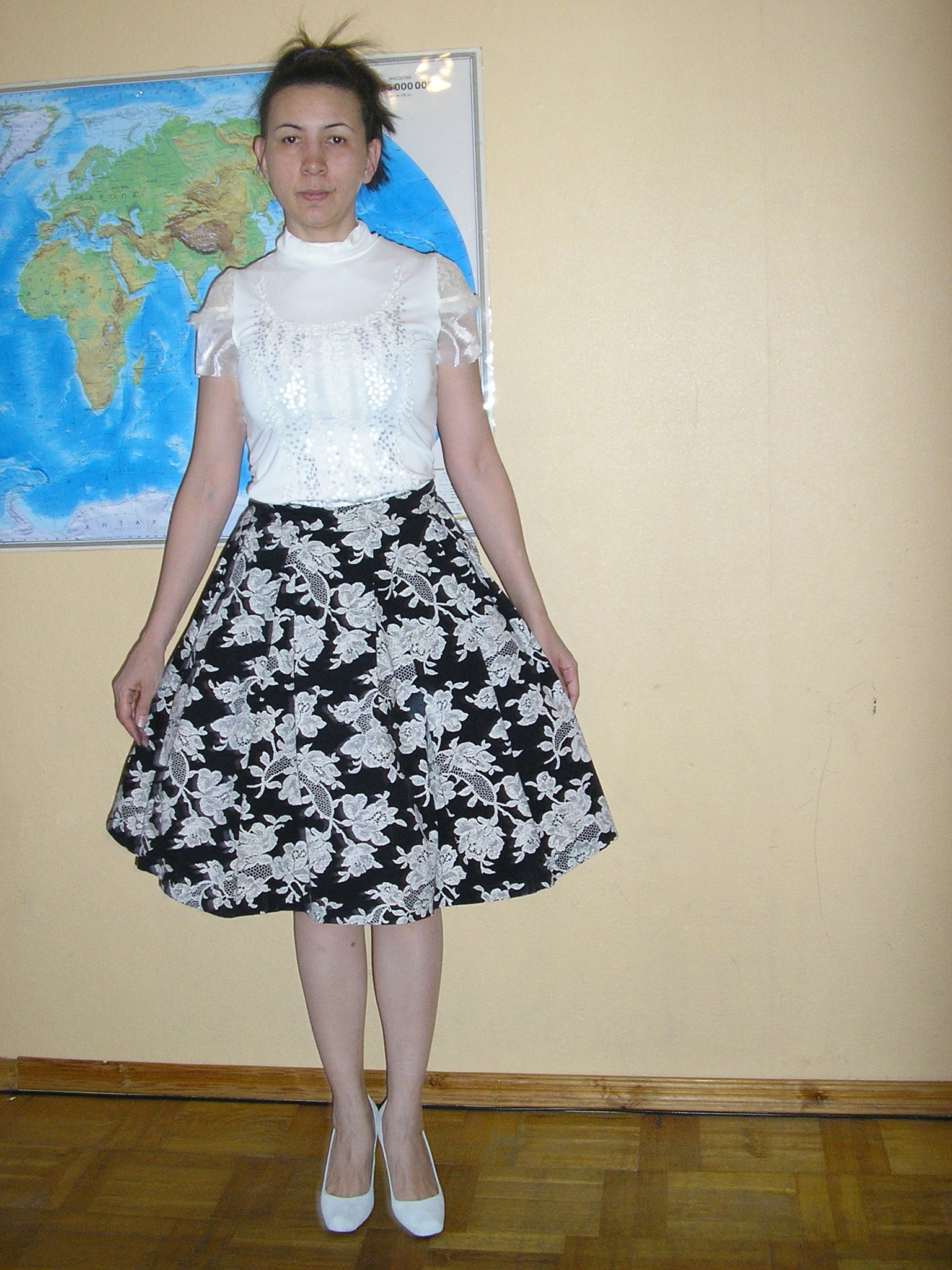 Сшить белую юбку или платье