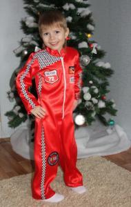Новогодний костюм маквина своими руками