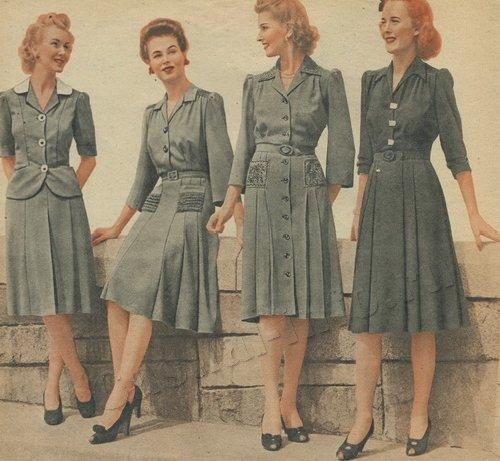 Мода 30 х годов фото  в россии