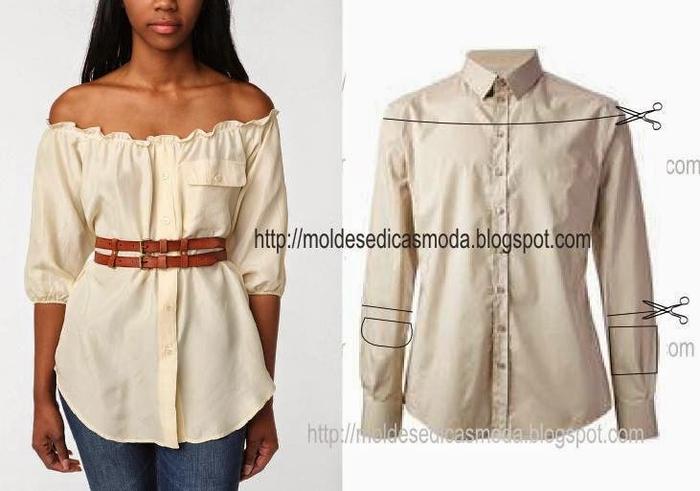 Платья-рубашки сшить своими руками
