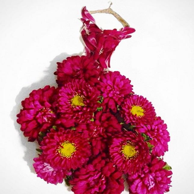 платье цветок фото
