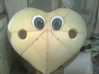 Как сделать ростовую куклу своими руками сердце EpifanAdmin.ru