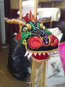 Китайский новогодний дракон своими руками