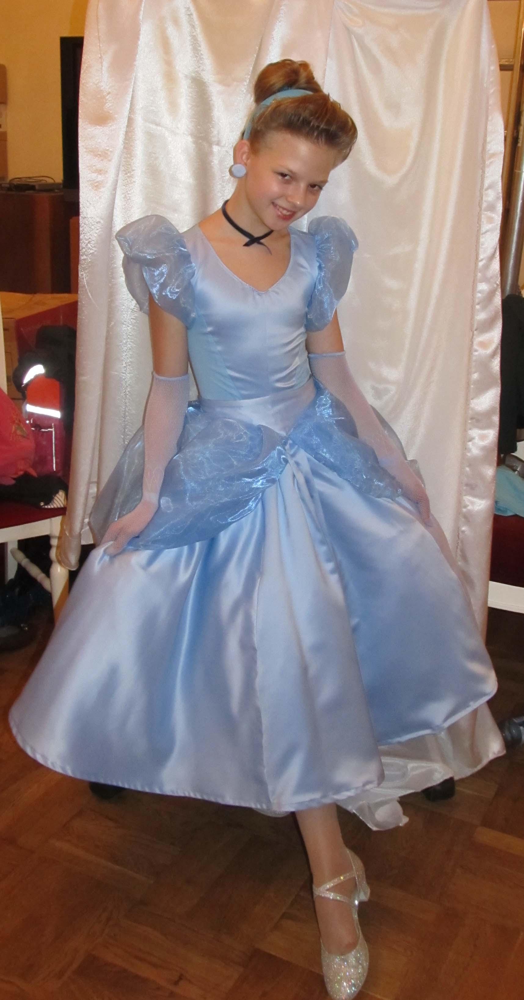 Платье для золушки как сшить