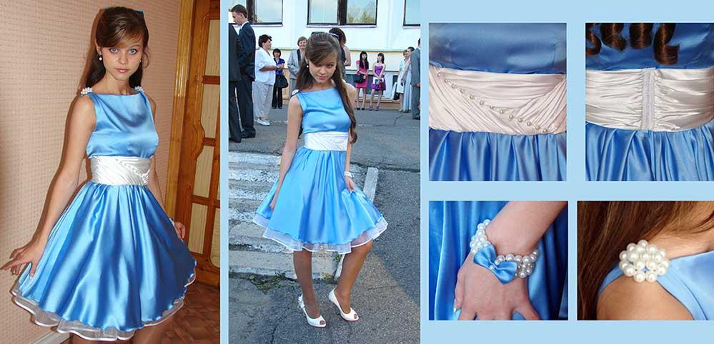 Как самим сшить выпускное платье 88