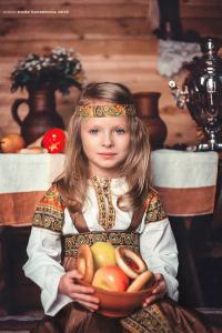 Детский русский сарафан сшить фото 686