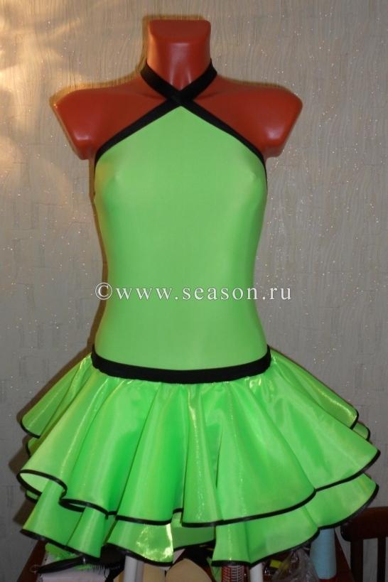 Платье для танцев своими руками для девочки