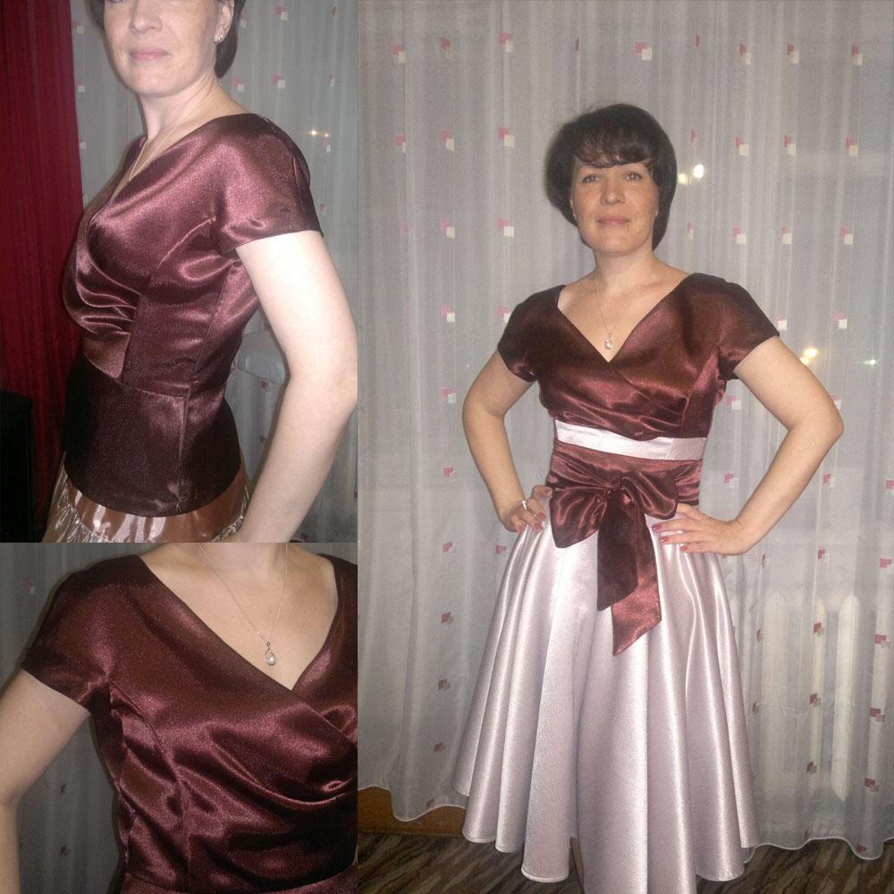 платья из атласа фото выкройки лилия, иначе лилия