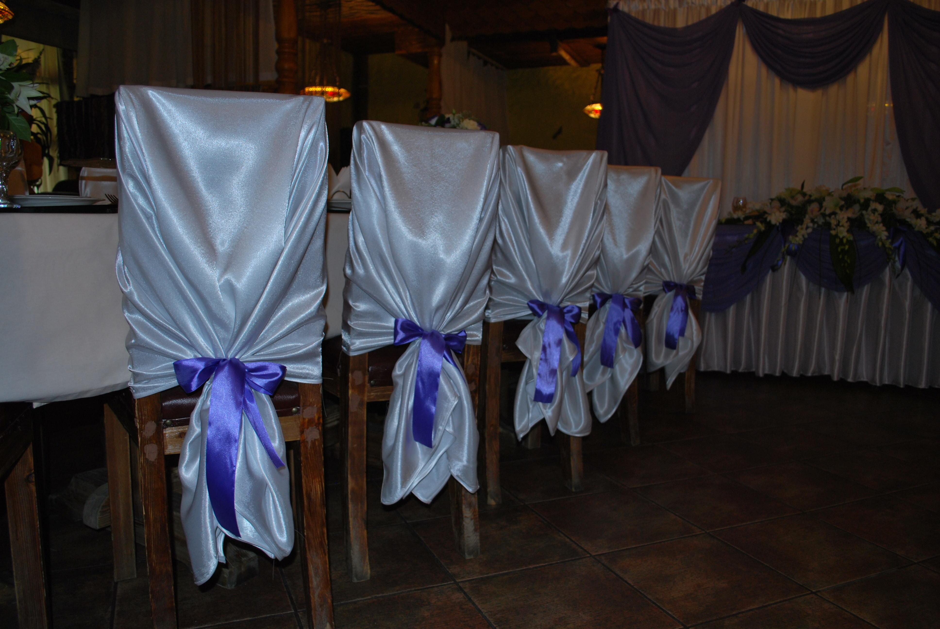 Выкройка универсальных свадебных чехлов на стулья фото 473