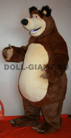 Выкройка ростового медведя