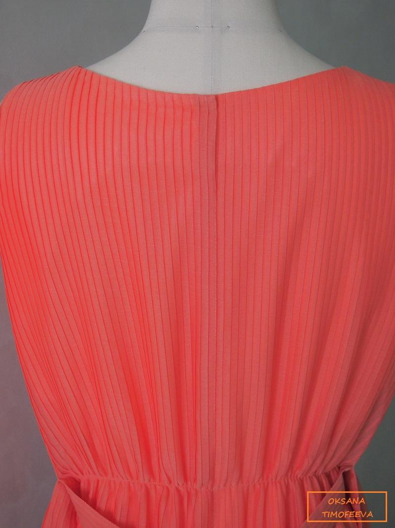 Платье из ткани плиссе сшить 29
