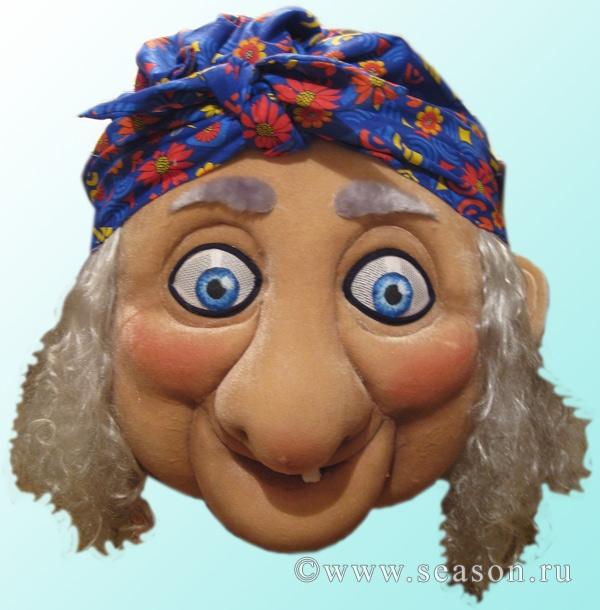 Нос бабы яги взрослый 40