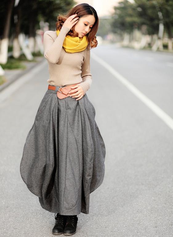 Выкройка серые юбки