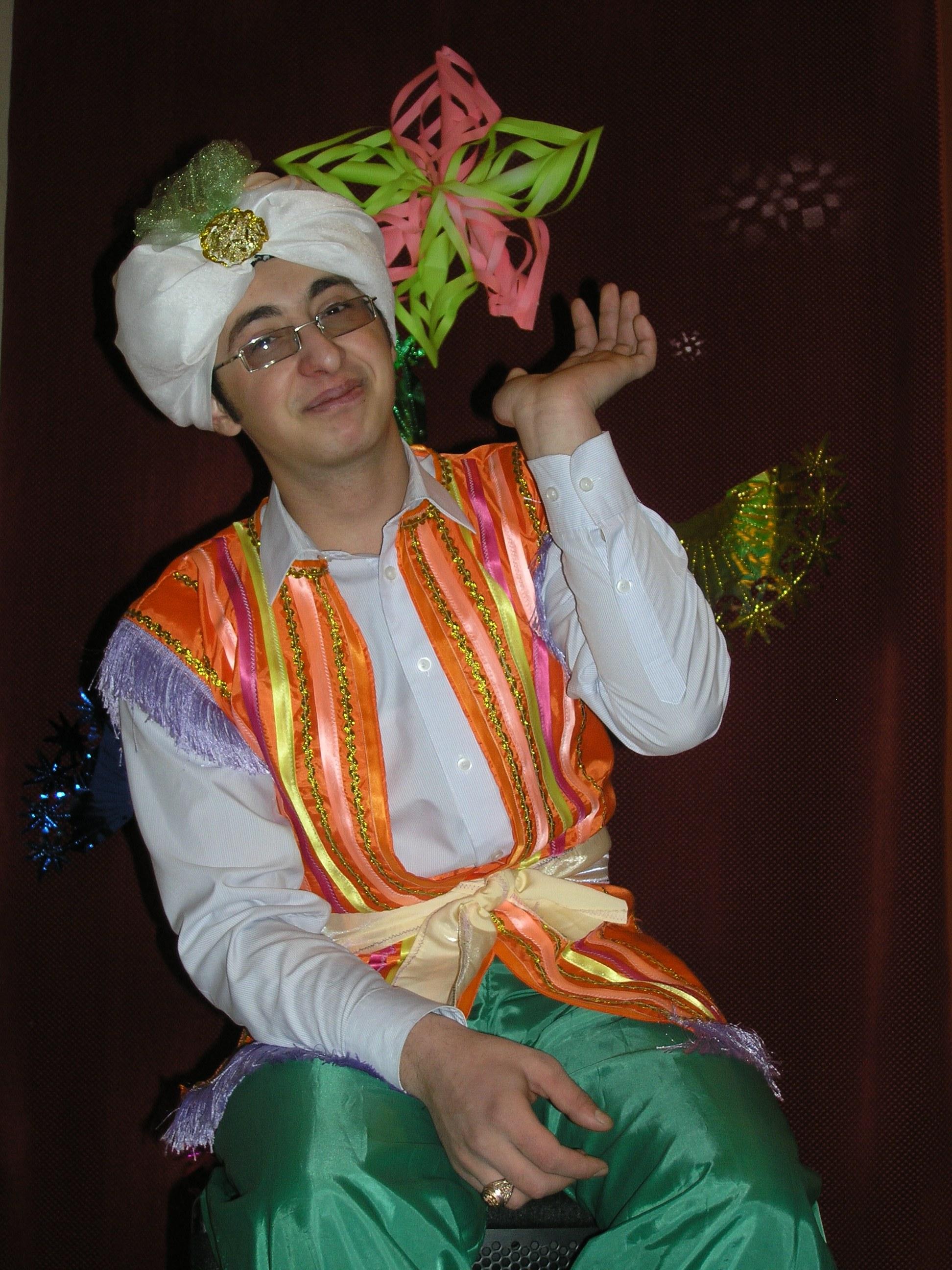 Костюм для султана своими руками