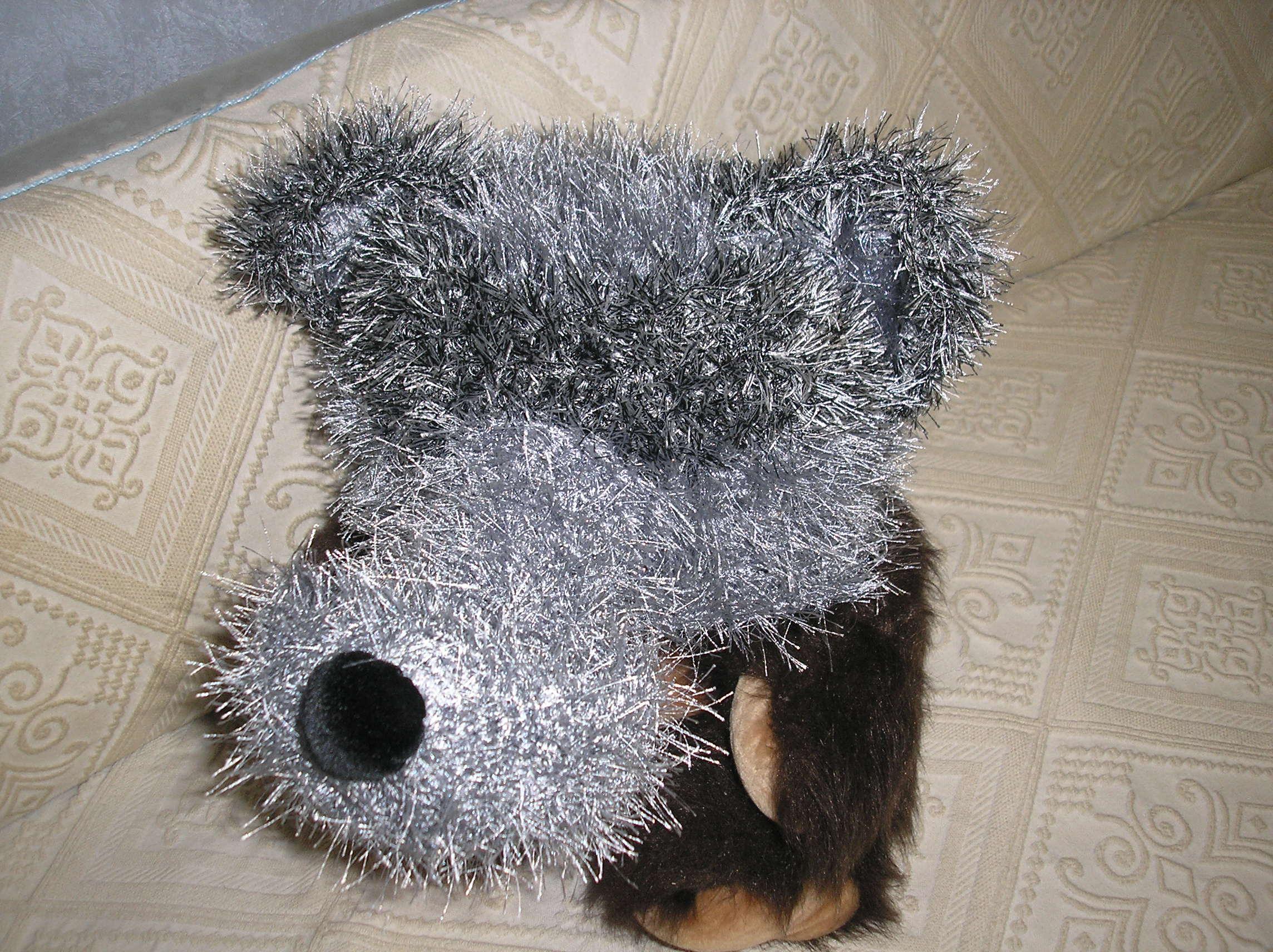 выкройка шапочки маски волка