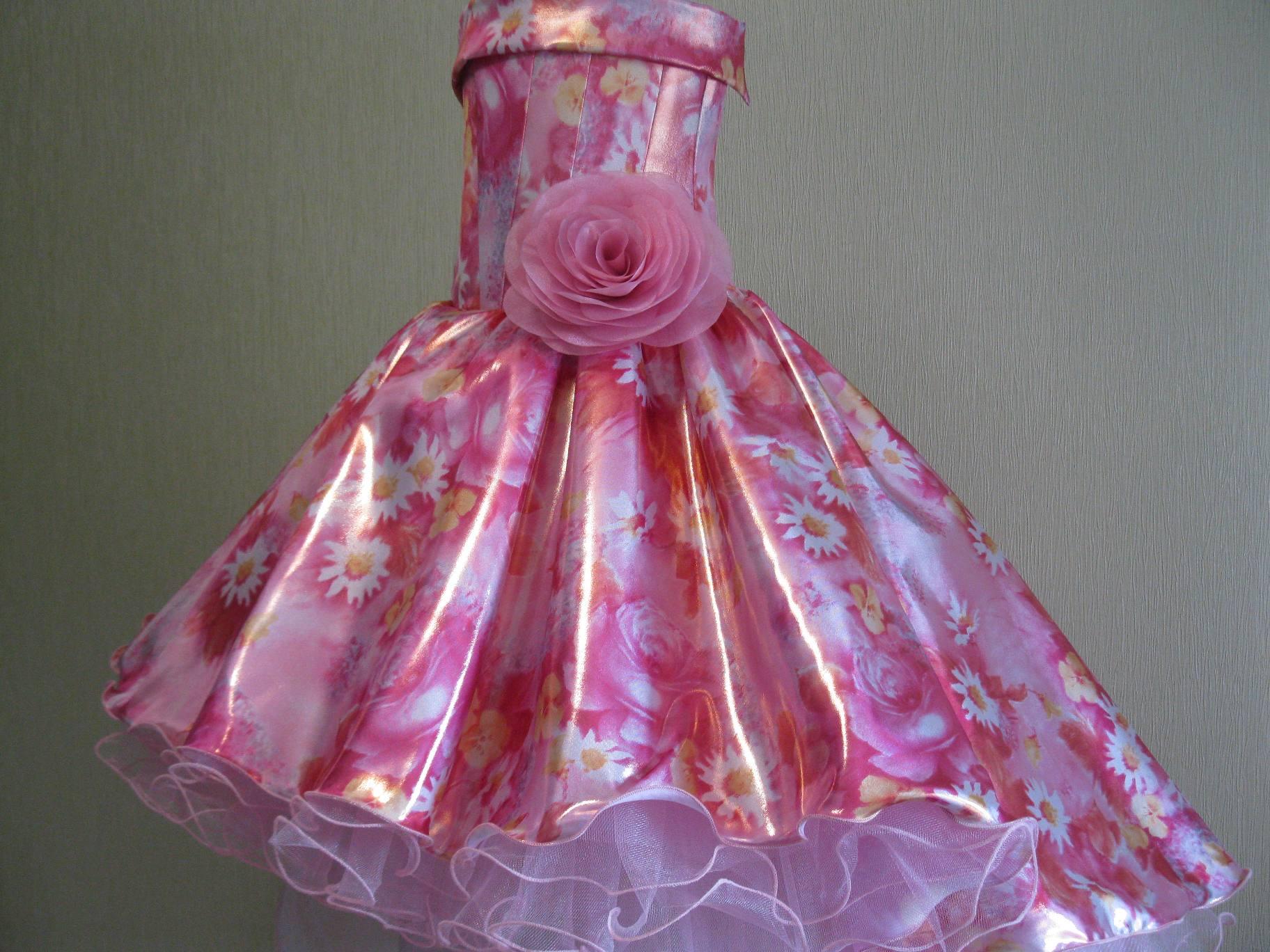 Платья нарядное сшитые своими руками фото