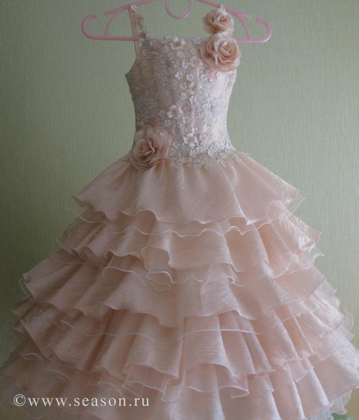 Платье на выпускной в садик своими руками сшить