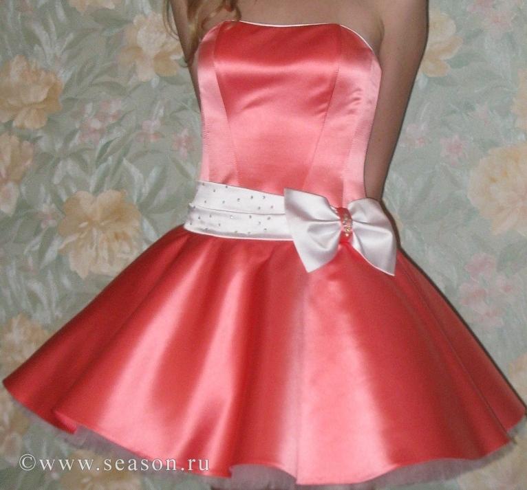 Сшить платье для девочки подростка нарядное