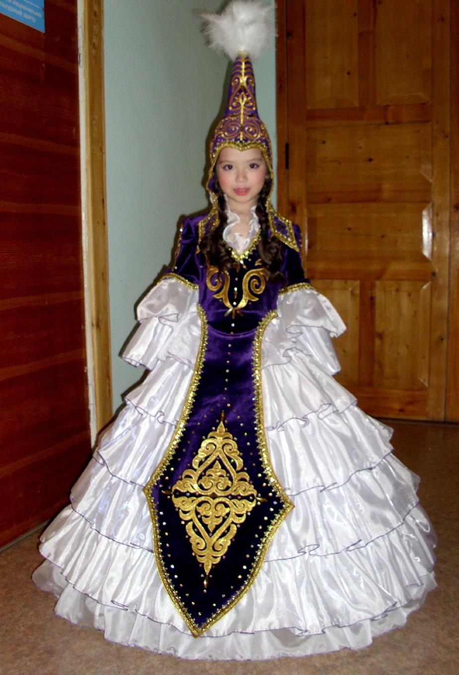 Казахский национальный костюм сшить 86