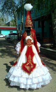 Казахский национальный костюм  Сервер Казахру