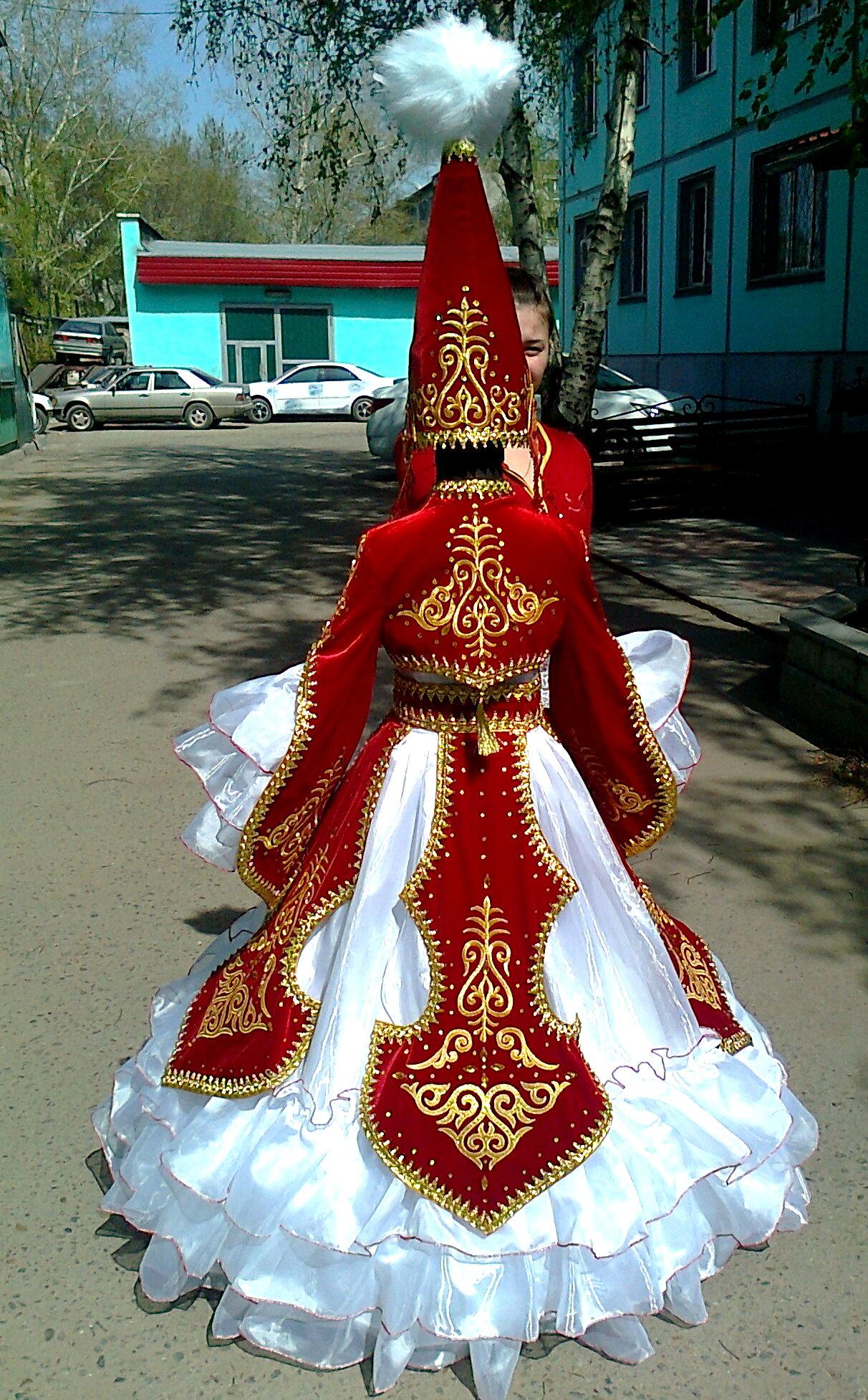 Казахский национальный костюм сшить 45