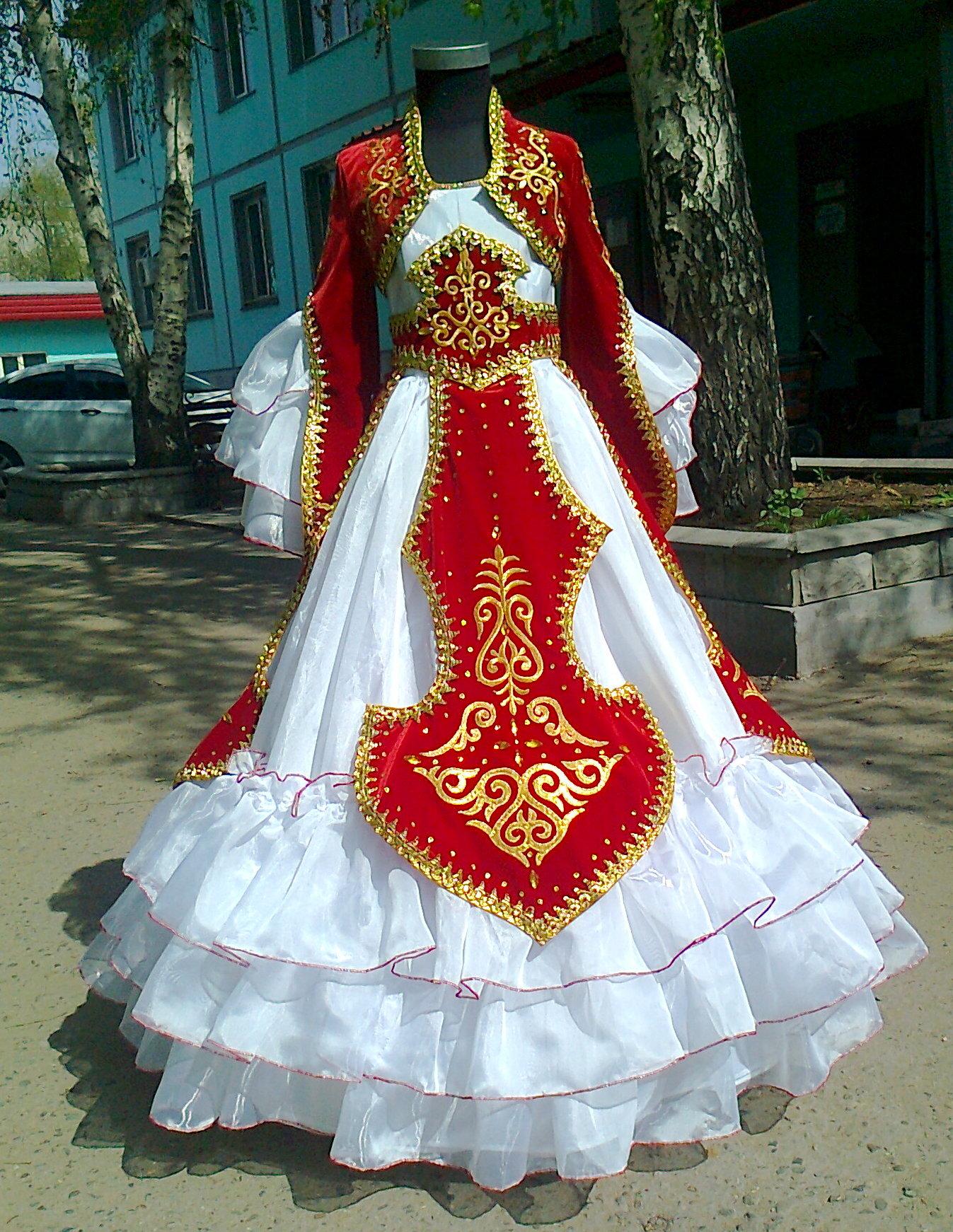 Казахский национальный костюм сшить 43