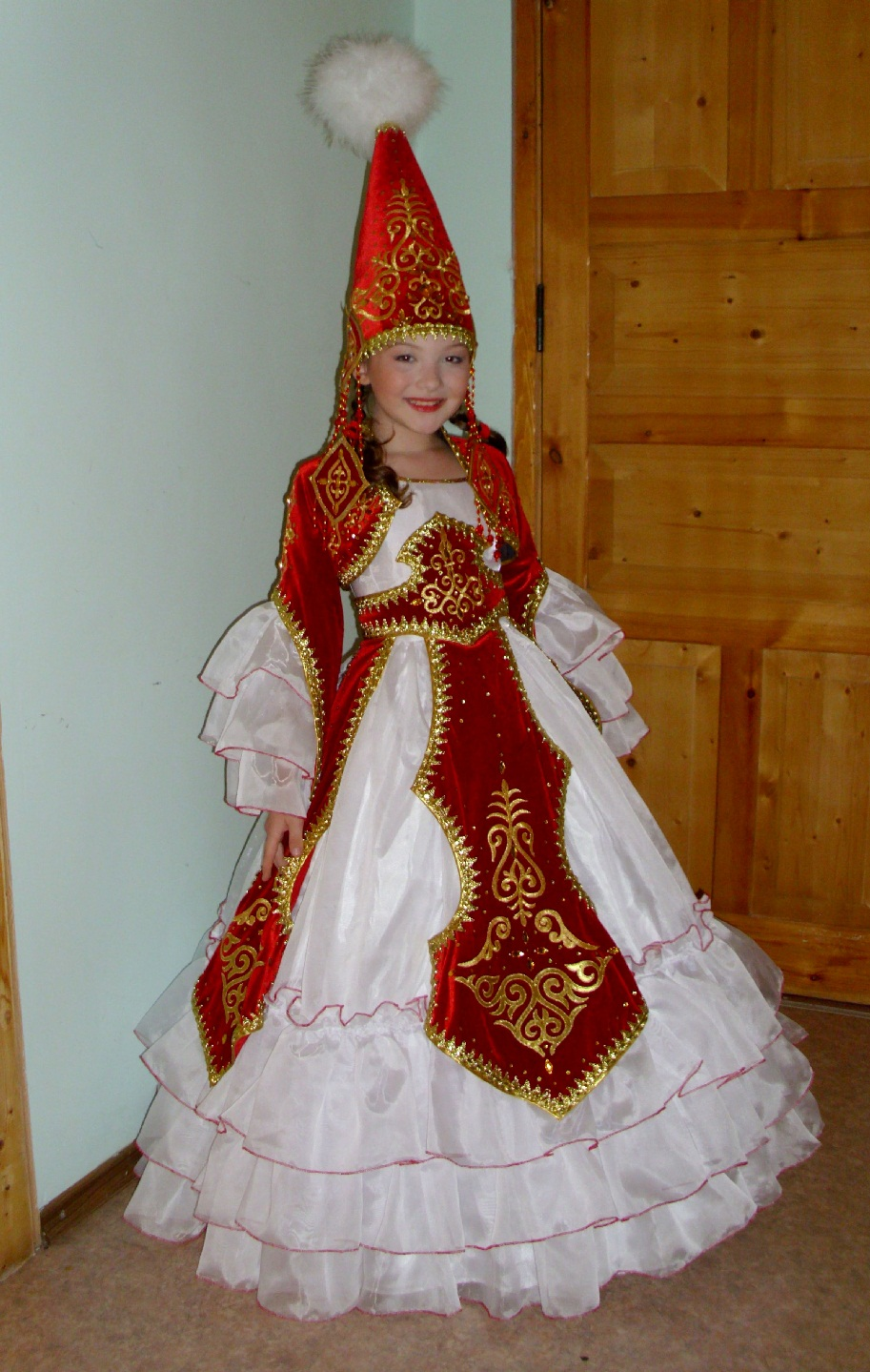 Казахский костюм для девочки своими руками фото 131
