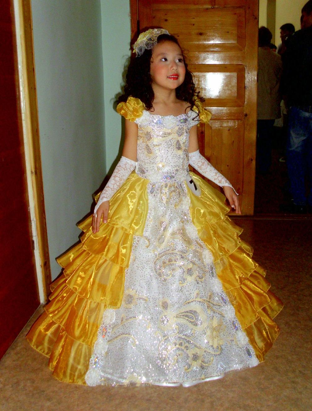 Как сделать платье принцессы