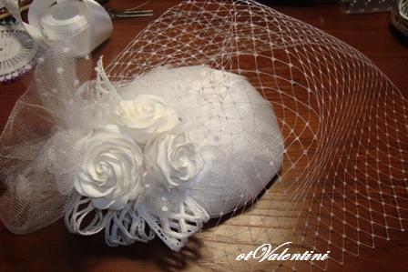 Вуаль для шляпок своими руками фото 610