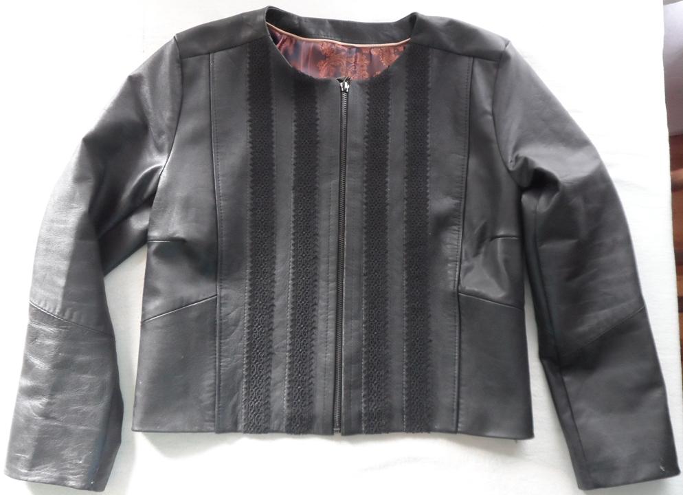 Переделка куртки кожаной
