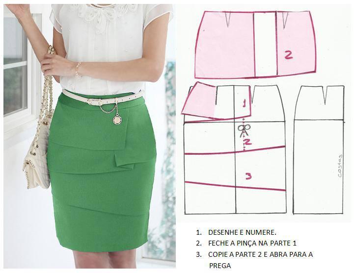 Как сшить модную юбку своими руками для полных