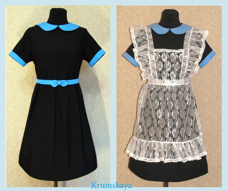 Сшить школьное платье на последний звонок