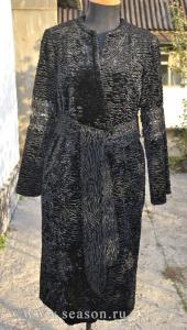 Еще одно пальто для себя из искусственного каракуля
