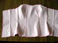Как сшить корсет для платья для начинающих