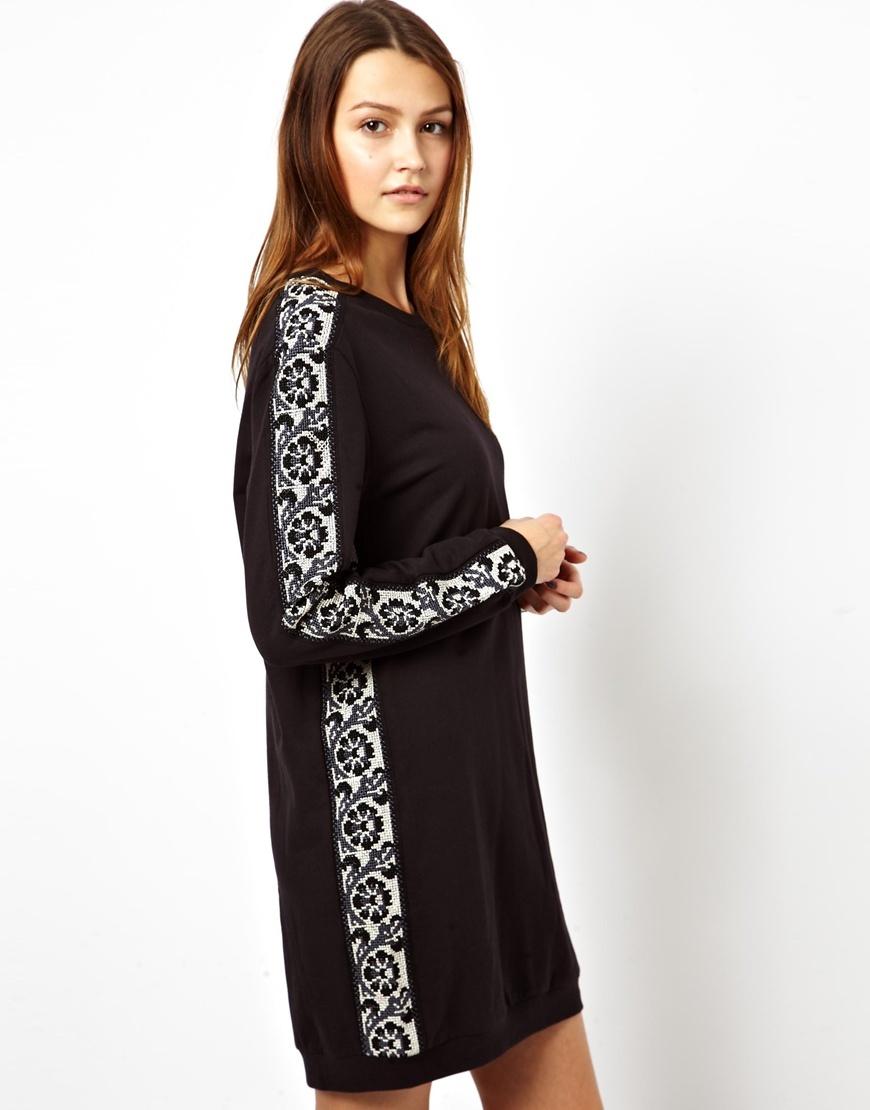 Как увеличить трикотажное платье