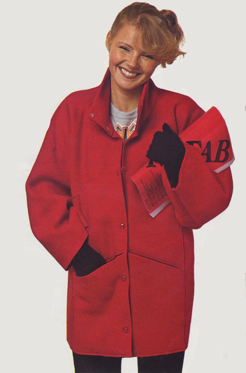 Как сшить себе модную куртку